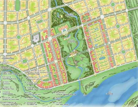 包头水泉新区控制性详细规划-城市设计篇-案例经典-,.